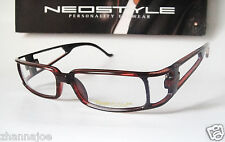Neostyle Zodiac 54-16 XL Large Brown Eyeglasses Frames Sun Mens Robot Modernist