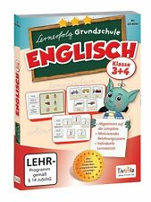 Lernerfolg Grundschule: Englisch Klasse 3+4, Tivola Lernsoftware PC, NEU/OVP