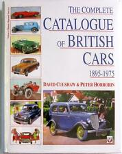 THE COMPLETE CATALOGUE OF BRITISH CARS 1895-1975 - ISBN:1874105936 CAR BOOK