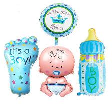 Jungen Folien Helium Ballons Für Neugeboren Baby Taufe Geburtstagsparty Set