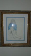 "Moses Soyer ""Ballet Dancer"" Original Pastel and Graphite W/COA"