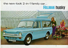 Hillman Husky Estate 1968-70 UK Market Sales Brochure Imp