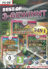 PC CD + Best of 3 Gewinnt + 3 Vollversionen + Montezuma + Win 7