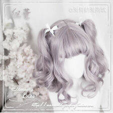Lolita Hime Dolls Mori Girl Sweet Harajuku Princess Culry Cosplay Daily Wig#k40