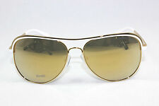 MICHAEL KORS VIVIANNA I MK1012-11127P Gold White / Liquid Gold Mirror Sunglasses