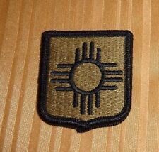 ARMY PATCH,NEW MEXICO ,NATIONAL GUARD HQRS  ,MULTI-CAM,SCORPION, WITH VELCRO
