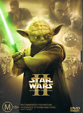 STAR WARS: Episode 2-II: Attack Of The Clones DVD MINT LIMITED EDITION 2-DISC R4