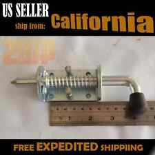 "2x RV Utility Trailer Gate Spring Loaded Latch for Drop Gate Ramp - 1/2"" Pin Dia"