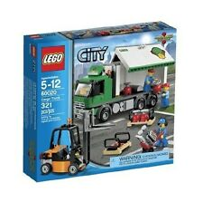 60020 CARGO TRUCK city town lego NEW sealed legos set FORK LIFT forklift