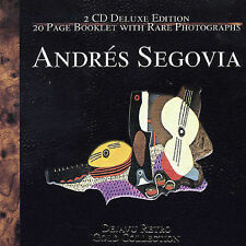 Andres Segovia - The Gold Collection 2000 by Bach, Johann Se *NO CASE DISC ONLY*