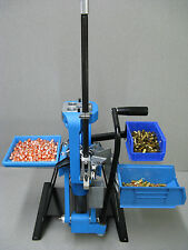 Ultramount press riser system for the Dillon 550 B reloading press. Mount