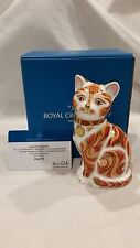 ROYAL CROWN DERBY JOCK VI OF CHARTWELL PAPERWEIGHT