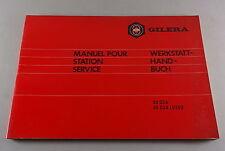 Taller de mano libro/Manuel pour estación Service gilera 50 GSA lusso stand 1974