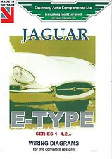 Jaguar E Type Series 1, 4.2 Litre Wiring Diagram Book (9191)