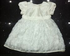 BNWTS Mothercare White Dress Christening Bridesmaid Party 12-18 Months £30