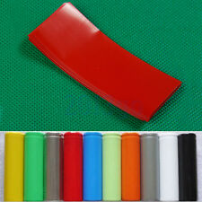 20 PVC Thermorétractable Tube Wrap Suit for Single 18650 Battery Covering HG