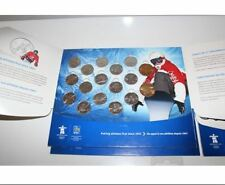 CANADA VANCOUVER 2010 OLYMPIC GAMES MINT SET IN OFFICIAL RBC ALBUM