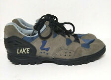 Lake MX 100 Cycling Mountain Vibram Shoes Grey Men's Size  9 9.5  EUR 42 Biking