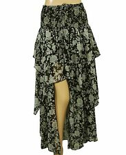 139124 New Denim & Supply Ralph Lauren Rock-And-Roll Asymmetrical Maxi Skirt L
