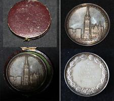 Medaille in Schachtel DÜNKIRCHEN 1860 Médaille Société Française d´Archéologie