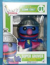 FUNKO MIB # 01 SESAME STREET SUPER GROVER Pop! Vinyl Figure AWESOME