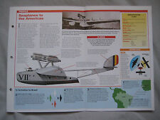 Aircraft of the World Card 26 , Group 1 - Savoia-Marchetti S.55