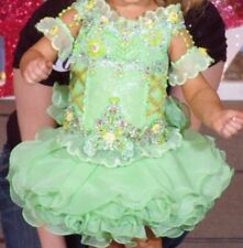 Ultimate Mega Glitz Pageant Dress Made By Kerry Davis 18 Months To 4 Slim