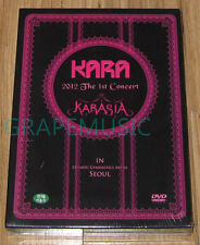 KARA 2012 The 1st Concert Karasia in Seoul Live 3 DVD + PHOTOBOOK SEALED