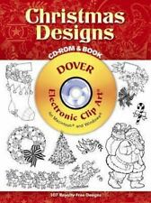 Christmas Designs CD-ROM and Book (Dover Electronic Clip Art)