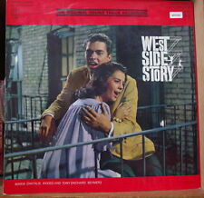 WEST SIDE STORY  LIVRE-DISQUE OST SOUNDTRACK FRENCH LP PHILIPS