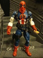 CUSTOM Marvel Legends CAPTAN AMERICA DEADPOOL           by Geppetto2015