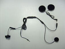 HELMET MICROPHONE SYSTEM FOR IPHONE SAMSUNG BLACKBERRY SONY BIKE SHS300i MOBILE