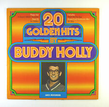 "12"" LP - Buddy Holly - 20 Golden Hits By Buddy Holly - C 1194 - washed & cleaned"