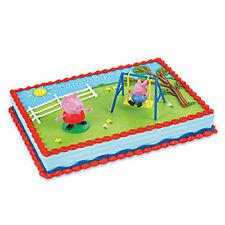 Peppa Pig 2 piece Cake Kit Decoration Supplies Party Favors