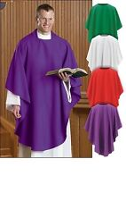 SET OF FOUR EVERYDAY CHASUBLE~CLERGY~SPECIAL:$99.95