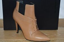 NIB ALEXANDER WANG Womens RYAN Tan Leather Ankle Boots w/Heels Size 9 EUR 39