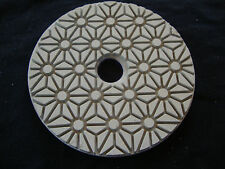 "4"" 3 Step 3rd Step Buffing Polishing Diamond Pads Wet Dry Granite Marble Stone"