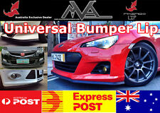 FRONT BUMPER SPOILER LIP SPLITTER BODY KIT Lancer ES CE VRX MR EVO 123456789 X