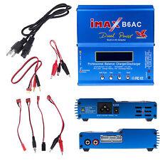 Imax B6 B6AC Lipo NiMh LCD Digital Balance Battery RC Charger AC100-240V+AU plug