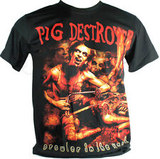 Pig Destroyer Large Size L New! T-Shirt (Prowler In The Yard) 1099