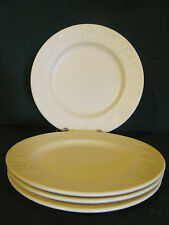 4  DINNER PLATES / FURIO HOME BY ROSANNA / CREAM COLORED/ MADE IN ITALY