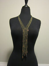 NWT Free People Chain Fringe Necklace NEW Anthropologie