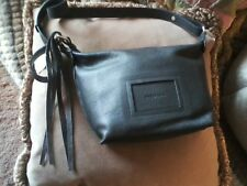 See By Chloe SHADES OF GRAY Natural Leather Small Handbag + Dust Bag NWT $460