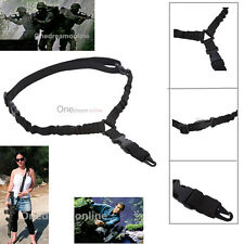 Tactical One 1 Single Point Bungee Rifle Gun Sling System Adjustable Strap Rope
