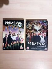 Primeval Series 1 & 2 One & Two DVD ALL DISCS IN MINT CONDITION