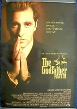 THE GODFATHER PART III MOVIE POSTER - Francis Coppola Al Pacino 1sht-rolled-1990