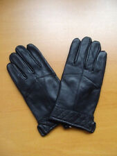 NEW MEN MAN BLACK LEATHER GLOVES SIZE LARGE AND XLARGE 3 ITEMS AVAILABLE