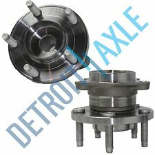 Pair: 2 New REAR 2007-10 Edge MKX AWD Complete Wheel Hub and Bearing Assembly