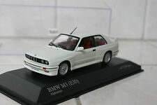 1:43 Minichamps BMW M3 E30 Street 1987 Alpin White