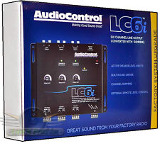 AudioControl LC6i  6 Channel Hi-Low Line Output Converter w/ Internal Summing